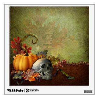 Halloween Skull Wall Decal