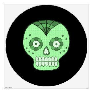 Halloween Skull Wall Decal - large
