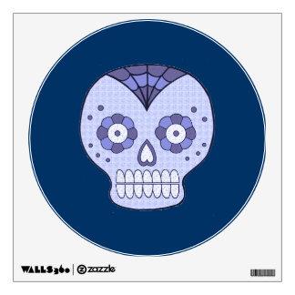 Halloween Skull Wall Decal - small