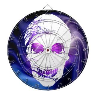 Halloween Skull with magic light 2 Dartboard