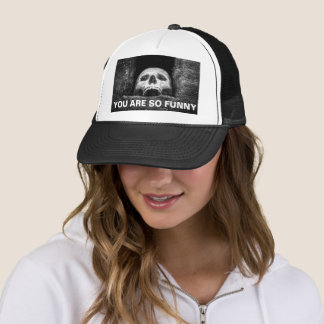 Halloween Skull You Are So Funny Trucker Hat