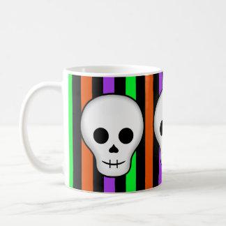 Halloween skulls coffee mug