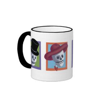 Halloween Skulls Mug