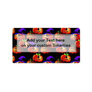 Halloween Smartie Candy wrappers Labels