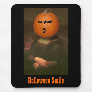 Halloween Smile Mouse Pad