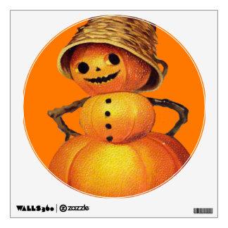 Halloween Snowman Wall Sticker