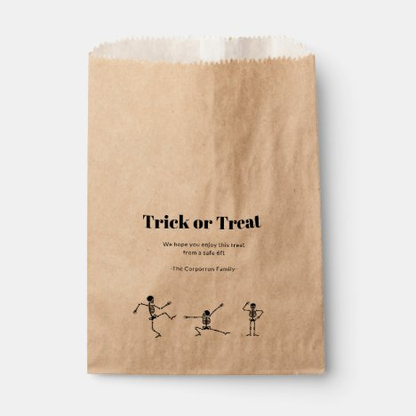 Halloween Social Distancing gift bags