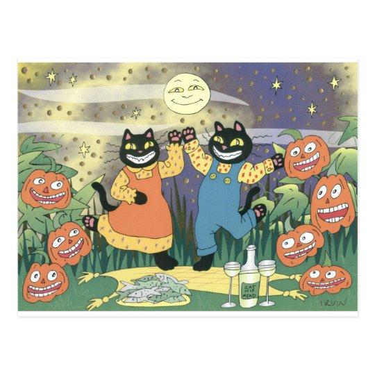 Halloween Soiree Postcard