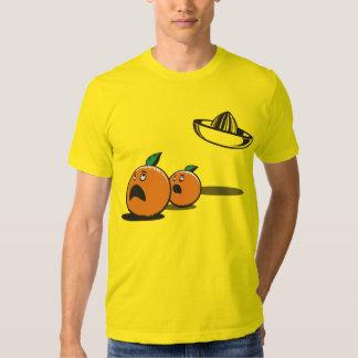 Halloween - sombrero divertido y calabazas del UFO Remera