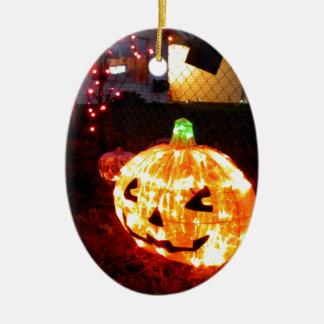 Halloween Sparkles Ceramic Ornament