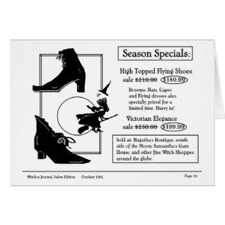 Halloween Specials Card