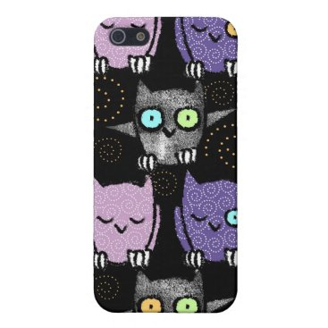 Halloween Themed Halloween Speck® Fitted™ Fabric-Inlaid Hard Shell Cover For iPhone SE/5/5s
