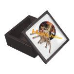 Halloween Spider 3x3 Premium Keepsake Boxes
