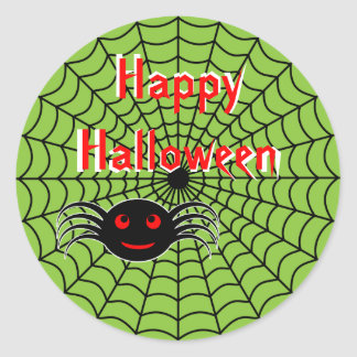 Halloween Spider and Web Stickers
