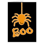Halloween Spider Boo Cards