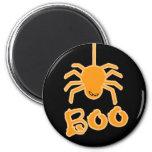 Halloween Spider Boo Fridge Magnet