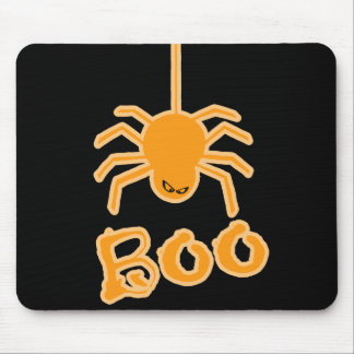 Halloween Spider Boo Mouse Pad
