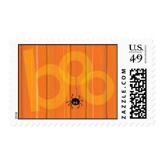 Halloween Spider Boo Postage Stamp