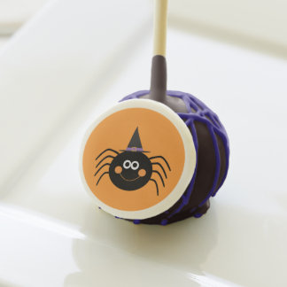 Halloween Spider Cake Pops