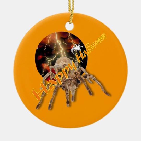 Halloween Spider Ceramic Ornament