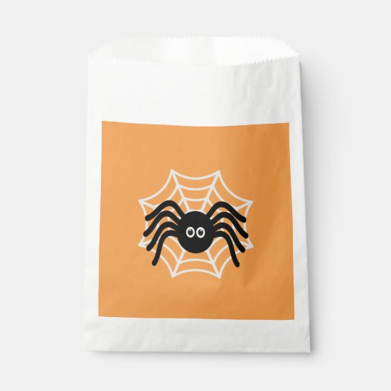 Halloween Spider Favor Bags