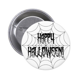 Halloween Spider Fingers and Web 2 Inch Round Button