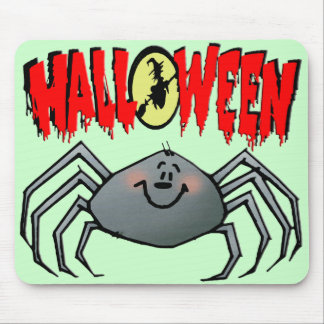 Halloween Spider Mouse Pads