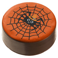 Halloween Spider on Web Dipped Oreos Chocolate Covered Oreo