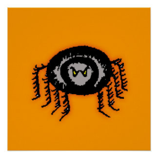 Halloween Spider Posters