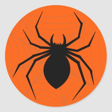 Halloween Themed Halloween Spider Sticker