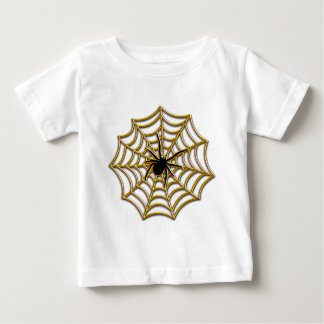 Halloween Spider Web Baby T-Shirt