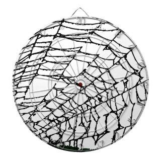 Halloween Spider Web Dartboard