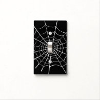 Halloween Spider Web Light Switch Cover