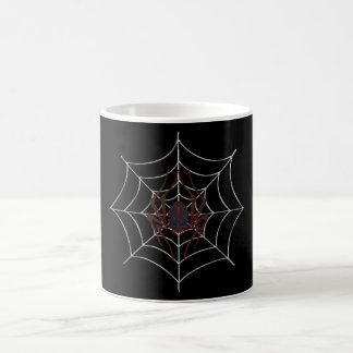 Halloween Spider Web Classic White Coffee Mug