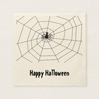 """Halloween/Spider Web"" Paper Napkins"