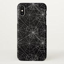 Halloween Spider Web Pattern | iPhone X Case
