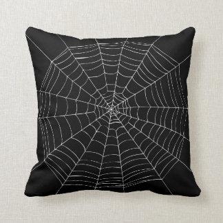 Halloween Spider Web Pillow