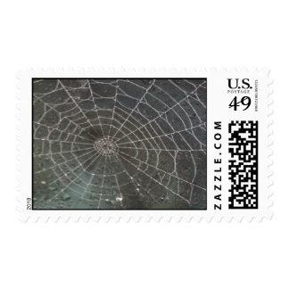Halloween Spider Web Postage