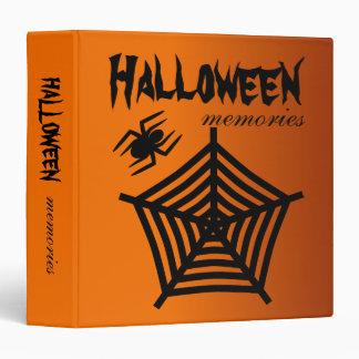 Halloween Spider & Web Scrapbook or Photo Album Binder
