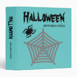 Halloween Spider & Web Scrapbook / Photo Album 3 Ring Binder