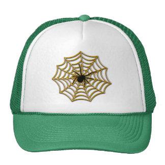 Halloween Spider Web Trucker Hat