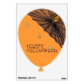 Halloween Spider Web Wall Sticker