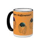 Halloween Spiders Coffee Mugs