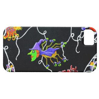 Halloween,spiders,Jack-O-Lantern,web,scarecrow iPhone SE/5/5s Case