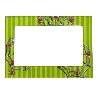 Halloween Spiders Magnetic Picture Frame