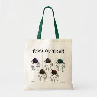 Halloween Spiders Tote Bag
