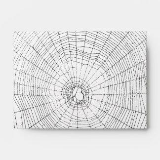 Halloween Spiderweb Envelope