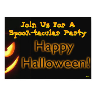 Halloween- Spook-tacular Party 5x7 Paper Invitation Card