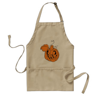 Halloween Spooks Collection Adult Apron