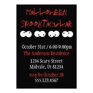 Halloween Spooktacular Invitation